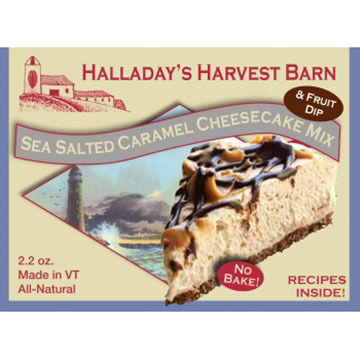 Halladay's Harvest Barn Sea Salted Caramel Cheesecake Mix
