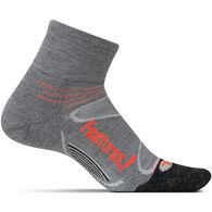 Feetures! Men's Elite Merino + Cushion Quarter Sock