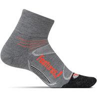 Feetures! Men's Elite Merino + Cushion Quarter Sock