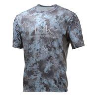 Huk Men's Icon Camo Short-Sleeve Fishing Shirt