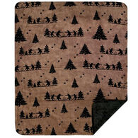 Monterey Mills Denali Bear Boogie Throw Blanket