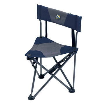 GCI Outdoor Quik-E-Seat Stool w/ Padded Back