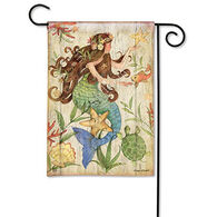 BreezeArt Mermaid Garden Flag
