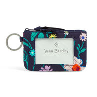 Vera Bradley Signature Cotton Zip ID Case