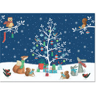 Peter Pauper Press Woodland Noel w/Keepsake Box Deluxe Holiday Cards