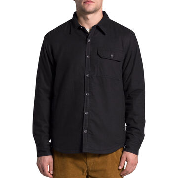 The North Face Mens Campshire Sherpa-Lined Long-Sleeve Shirt