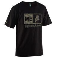 Grundens Men's Location Logo Short-Sleeve Shirt