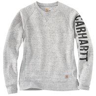 Carhartt Women's Relaxed Fit Midweight Crewneck Graphic Sweatshirt
