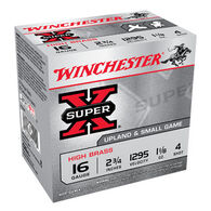 "Winchester Super-X High Brass 16 GA 2-3/4"" 1-1/8 oz. #4 Shotshell Ammo (25)"