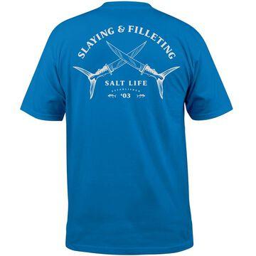 Salt Life Mens Slaying & Filleting Pocket Short-Sleeve T-Shirt