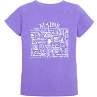 Where Life Takes You Women's Maine Destination KTP Short-Sleeve T-Shirt
