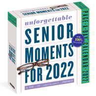 389 Unforgettable Senior Moments 2022 Page-A-Day Calendar by Tom Friedman