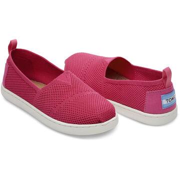 TOMS Girl's Mesh Knit Alpargata Slip-On Shoe