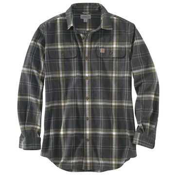 Carhartt Men's Hubbard Plaid Flannel Long-Sleeve Shirt