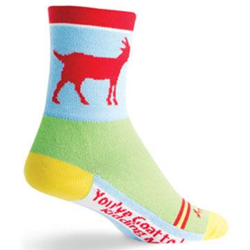 SockGuy Men's Goat Bicycling Sock