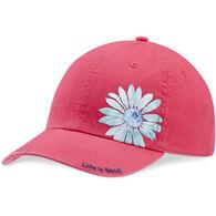 Life is Good Girls' Print Pattern Flower Chill Cap