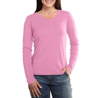 Carhartt Women's Calumet V-Neck Long-Sleeve Shirt