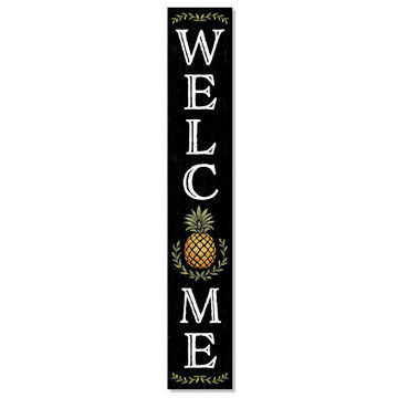 My Word! Welcome - Pineapple Porch Board