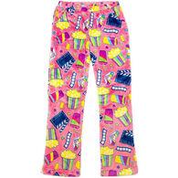 Candy Pink Girl's Movie Pajama Pant
