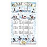 Kay Dee Designs 2018 Lighthouses Calendar Towel