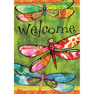 Carson Home Accents Flagtrends Dragonfly Friends Garden Flag