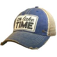 Vintage Life Women's On Lake Time Trucker Hat