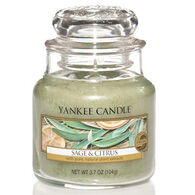 Yankee Candle Small Jar Candle - Sage & Citrus