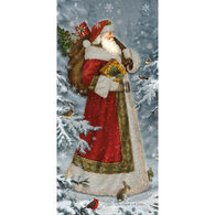 LPG Greetings Old Fashioned Santa Boxed Christmas Cards