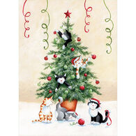 LPG Greetings Kitty Christmas Boxed Christmas Cards
