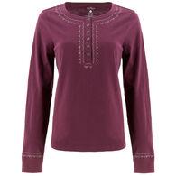 Aventura Women's Old Ranch Teton Henley Long-Sleeve Shirt