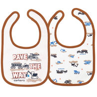 Carhartt Infant/Toddler Boys' Pave The Way Bib Set, 2pc