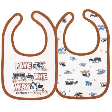 Carhartt Infant/Toddler Boys' Pave The Way Bib Set, 2pc