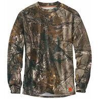 Carhartt Men's Base Force Extreme Camo Crew Baselayer Top