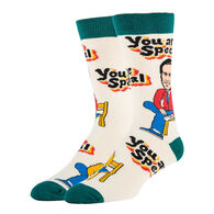 Oooh Yeah! Socks Men's Mister Rogers You Are Special Crew Sock