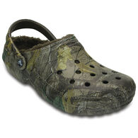 Crocs Men's Classic Realtree Xtra Fuzz Lined Clog