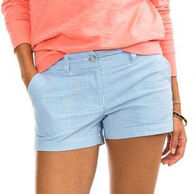 "Southern Tide Women's Leah 3"" Seersucker Short"