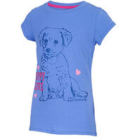 Carhartt Girls' Puppy Love Short-Sleeve T-Shirt