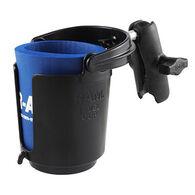 RAM Drink Cup Holder w/ Double Socket Arm