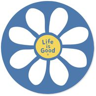 Life is Good Daisy Magnet