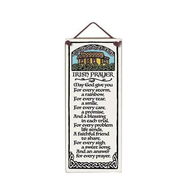 "Spooner Creek ""Irish Prayer"" Large Talls Tile"