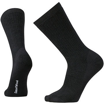 SmartWool Men's Heavy Heathered Rib Crew Sock