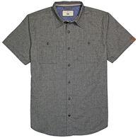 Dakota Grizzly Men's Spencer Chamois Slub Short-Sleeve Shirt
