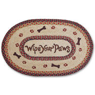 Capitol Earth Wipe Your Paws Oval Braided Rug
