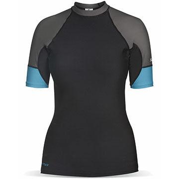 Dakine Womens Flow Snug Fit Short-Sleeve Surf Shirt