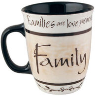 Carson Home Accents Heartnotes Family Mug