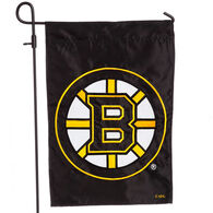 Evergreen Boston Bruins Applique Garden Flag