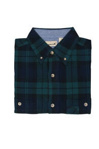 Backpacker Men's Yarn Dyed Flannel Long-Sleeve Shirt