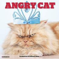 Willow Creek Press Angry Cat 2020 Wall Calendar