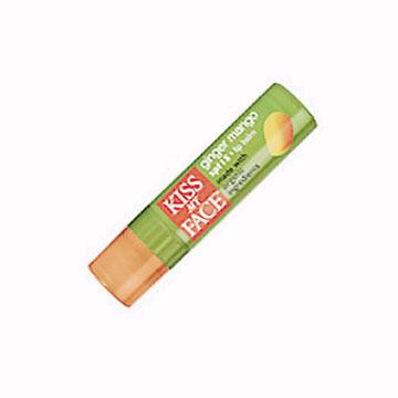 Kiss My Face SPF 15 Ginger Mango Lip Balm w/ Organic Ingredients