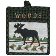 Kay Dee Designs Woodland Moose Embroidered Pocket Mitt